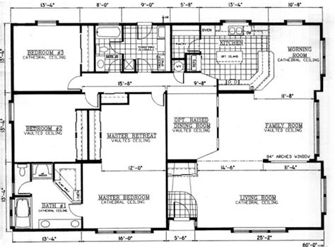 floor plans for large homes valley quality homes mansion series 2832 floor plan