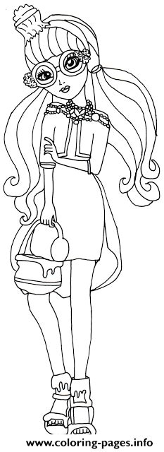 ever after high coloring pages gingerbread house ginger breadhouse ever after high coloring pages printable