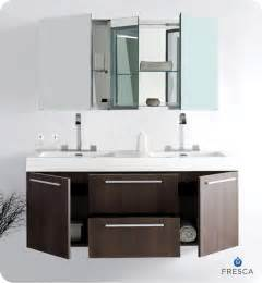 fresca opulento gray oak modern sink bathroom