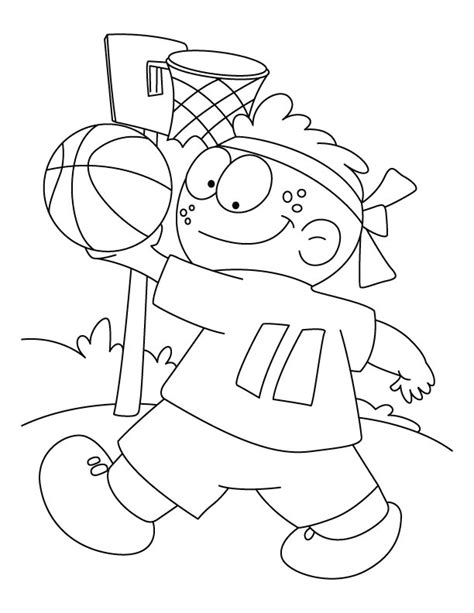 funny basketball coloring pages free coloring pages of badminton