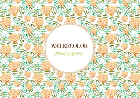 watercolor flowers pattern vector free download free vector watercolor floral pattern download free
