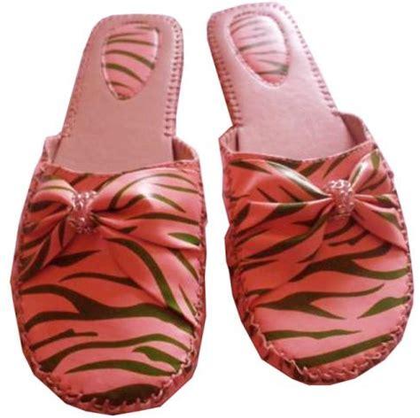 zebra print house shoes aka slippers