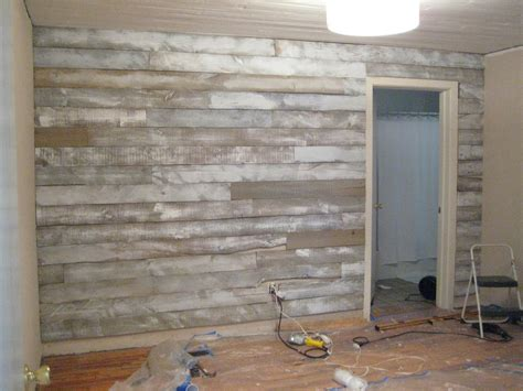 Wood Plank Accent Wall