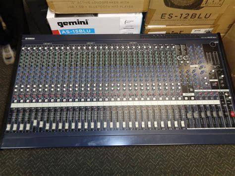 mixer console used yamaha mg32 14fx mixing console non powered mixer