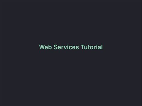 php tutorial restful web services web services php tutorial