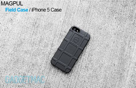 magpul field case  iphone  review gadgetmac