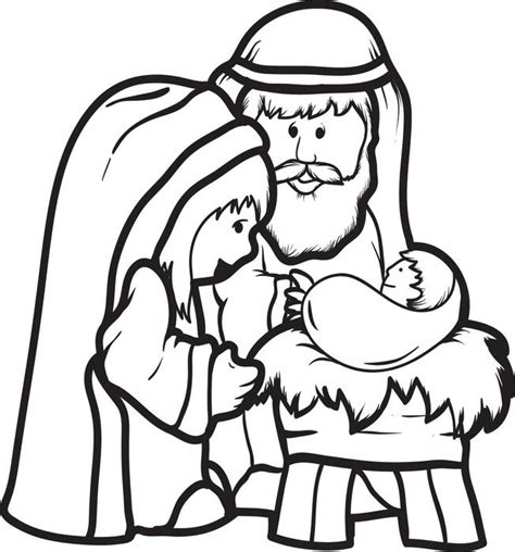 coloring pages about baby jesus baby jesus coloring pages