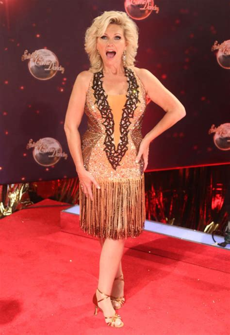 most recent photo of fiona fullertonpictures of penelope cruz with short hair strictly come dancing 2013 launch event fiona fullerton
