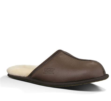 ugg scuff mens slippers ugg australia s slippers scuff leather stout