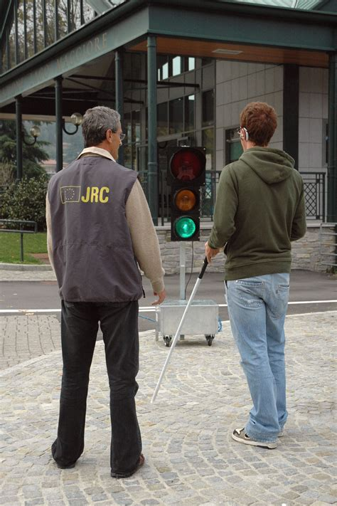 Background Check Before Sesamonet Improved Mobility Of The Visually Impaired Pictures European Commission