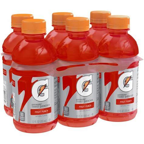 g fruit punch gatorade g series perform fruit punch sports drink 6 pack