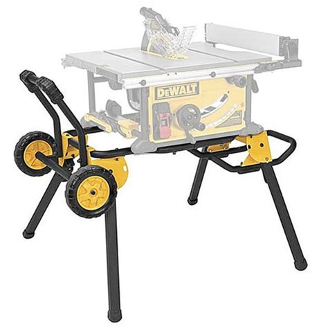Table Saw Cart by Dewalt Dwe74911 Rolling Table Saw Cart Stand