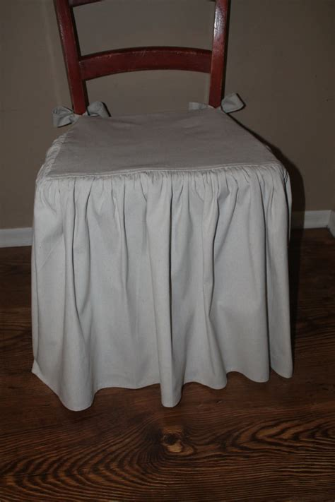 Cloth Chair Covers by Four Drop Cloth Chair Seat Covers Chair Covers With Floor