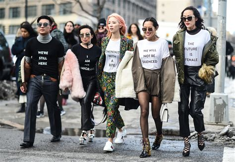 style trend black people fashion week s most showstopping feminist moments allure