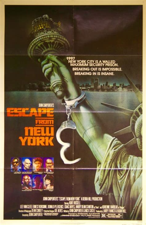 Poster Escape From New York 30x40cm escape from new york vintage posters