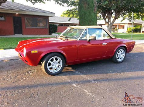 1979 corvette lights 1979 fiat spider 2000 w custom corvette lights