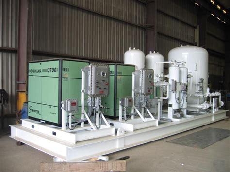custom engineered industrial air compressor packages sullair