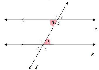 Same Side Interior Definition Angle Pairs
