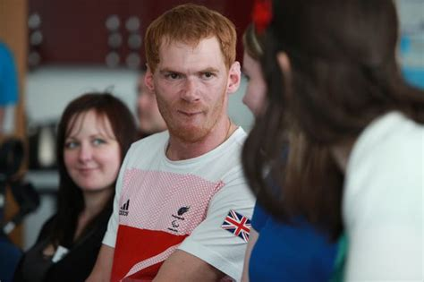 stephen miller athlete amid paralympics budget fears cramlington s stephen