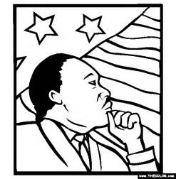 mlk coloring pages martin luther king coloring pages page 1