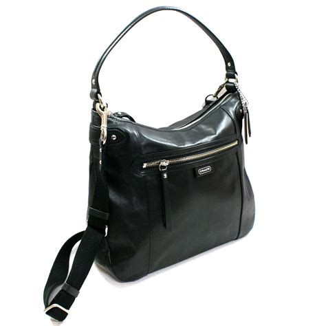Black Shoulder Bag the gallery for gt black coach shoulder bags