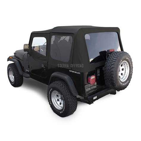 jeep wrangler yj top offroad jeep wrangler yj soft top in black