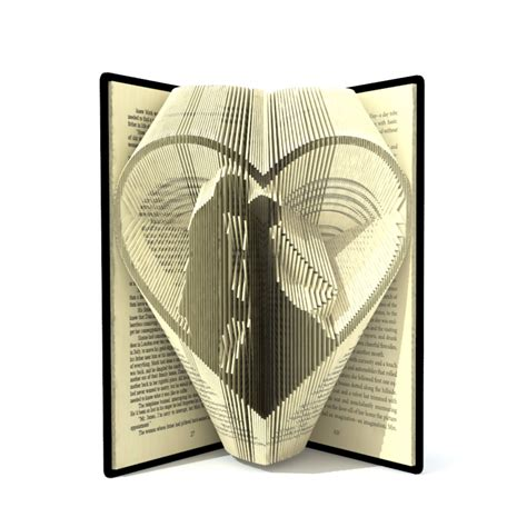 folded book template book folding pattern wedding in by simplexbookfolding