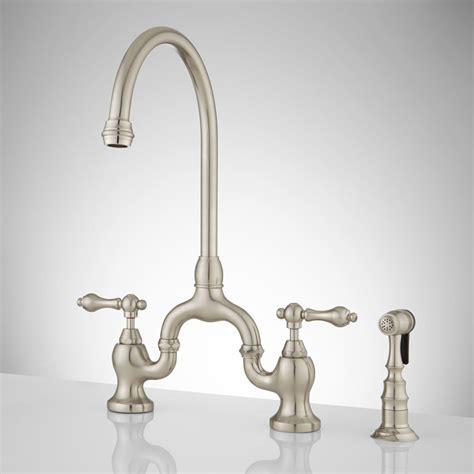 antique bridge faucet signaturehardware com antique bridge faucet signature hardware