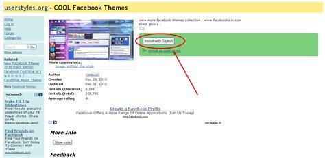 facebook themes skins google chrome cara ganti backroud fb dengan google chrome mozilla