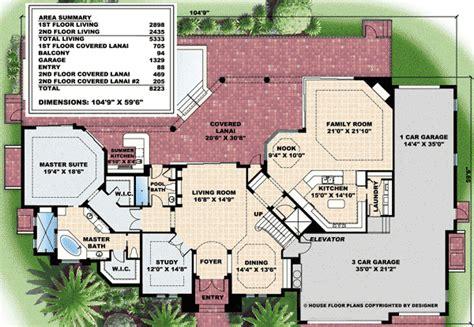 Lanai House Plans Plan W76016gw Second Floor Family Room And Lanai E Architectural Design