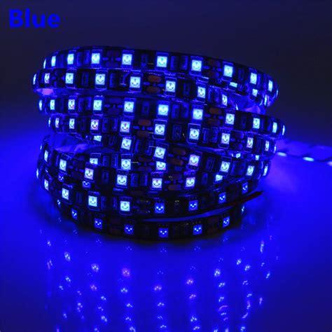 pink led tape light 50cm 1m 2m 3m 4m 5m 12v led strip 5050 black pcb flexible