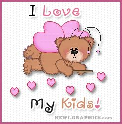 I Love My Kids Fairy Bear Facebook Graphic, Forum / Social ... I Love My Husband And Kids Facebook Cover