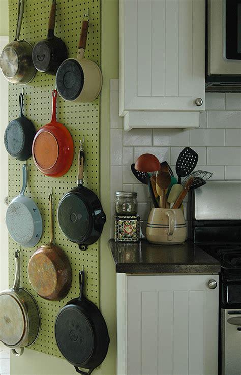 pegboard ideas kitchen a julia child pegboard pot rack