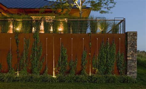 Elephant Wall Planter by Corten Steel Wall Modern Landscape Burlington By