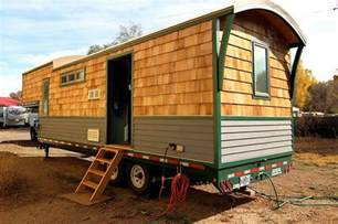 Home Design Exles by Refreshing Tiny House Is Built Using Gooseneck Trailer