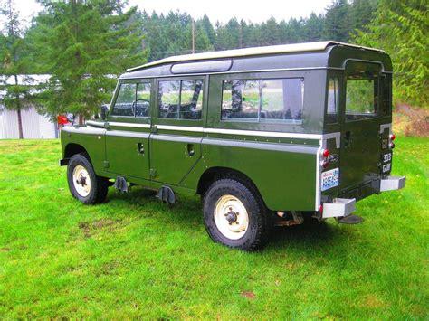 land rover safari for sale 1971 land rover safari for sale 2042212 hemmings motor