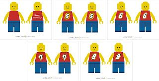 printable lego numbers winks daisies the lost lego party guy