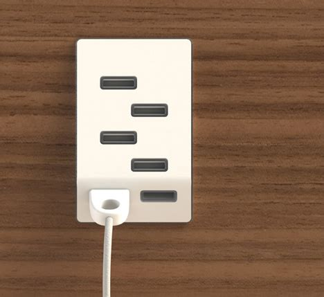 how to install usb wall outlet usb outlet gives you multiple places to power up gadgets