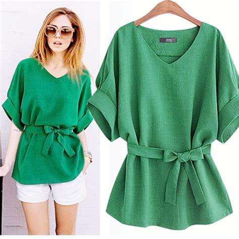 Promo Aulia Tunic Hitam Best Seller european blouse summer cotton linen tunic shirt v neck blouse tops xl