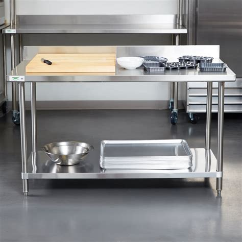 regency 30 quot x 60 quot 16 stainless steel commercial work