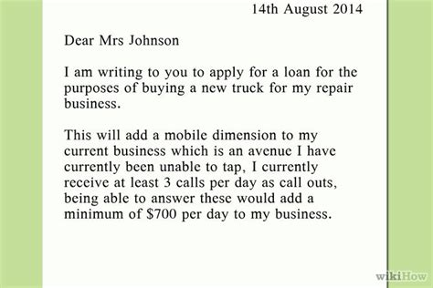 Car Loan Application Letter To Bank Intent Letter Of Request La Profecia No Nacido