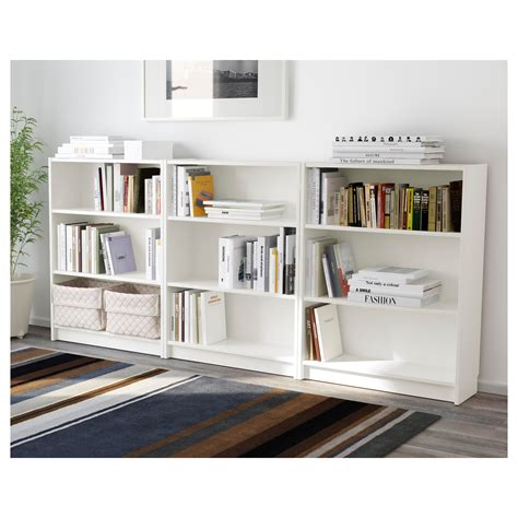 white bookcases billy bookcase white 240x106x28 cm ikea