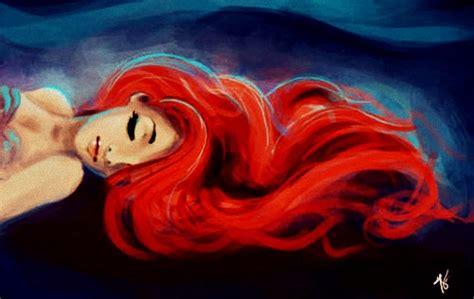 ariel painting pretty disney beautiful painting inspiration