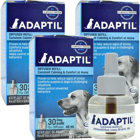 dap for dogs 3 pack adaptil dap appeasing pheromone refill 144ml