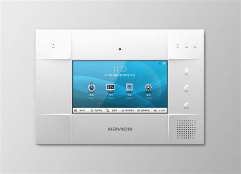 design home network system navien 7 quot wall pad entry if world design guide