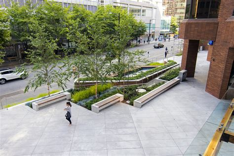 Cool Planters by Pender Plaza Connect Landscape Architecture
