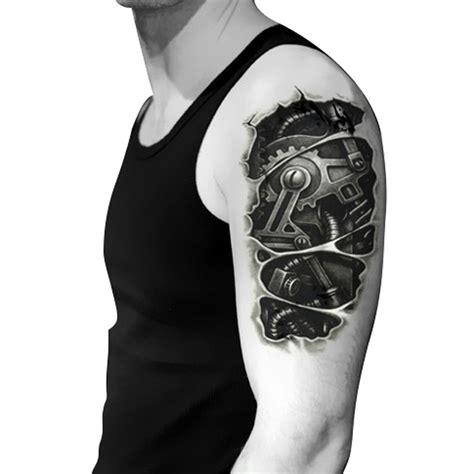 超级炫酷的手臂机械纹身第2页