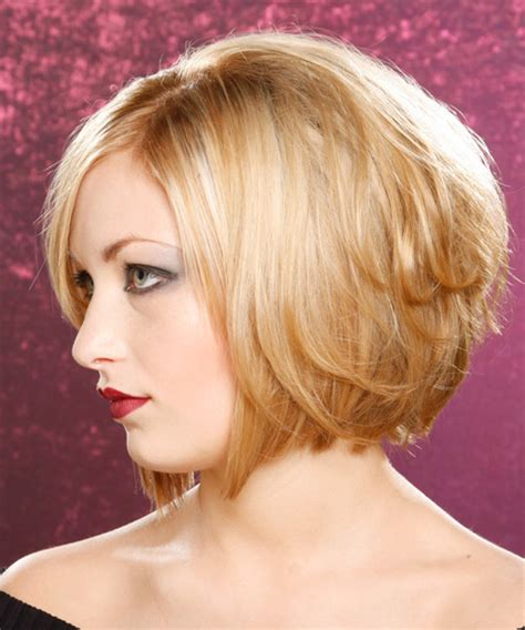 med length bob graduated layers medium length graduated bob