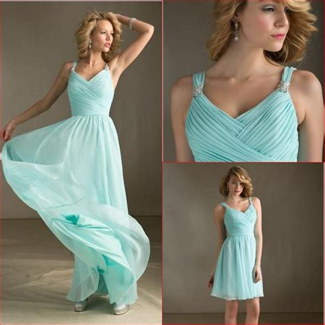 2014 fashion arrival spaghetti sweetheart chiffon light green patterns aqua color