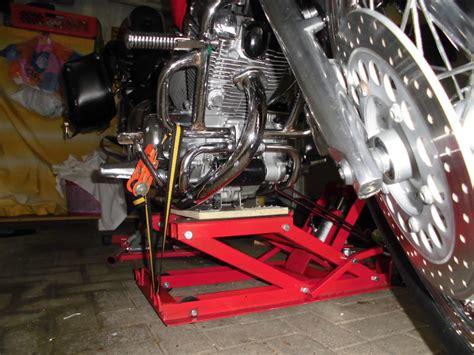 Motorradheber Für Yamaha Xv 535 by Was Habt Ihr Heute An Eurem Moped Geschraubt Gemacht